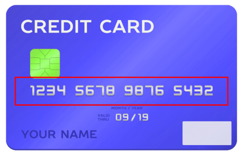 Credit Card Number Fasttaxi