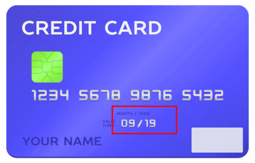 Credit Card Expiry Date Fasttaxi